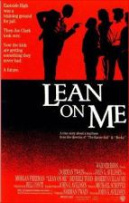 lean on me movie poster